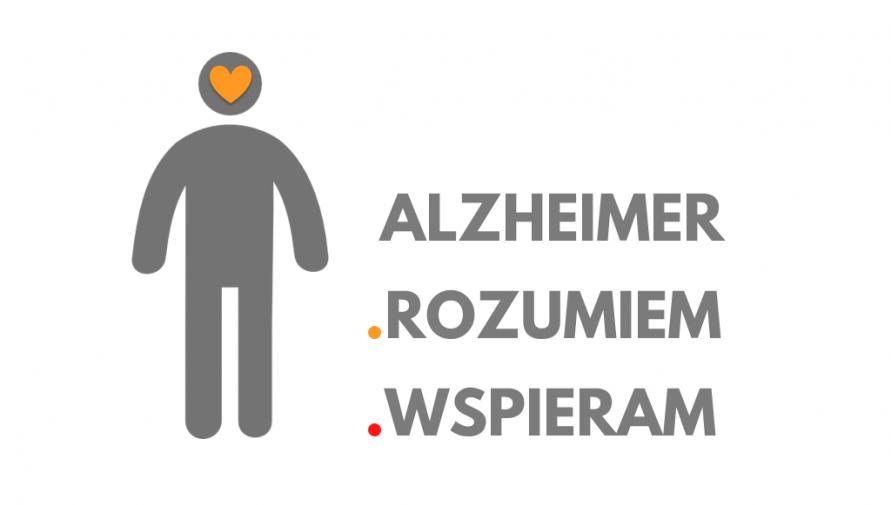 """""""Alzheimer – rozumiem – wspieram"""" - materiały informacyjno-edukacyjne"""
