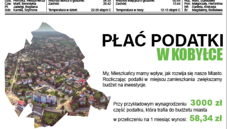 Strona gazety Kurier Kobyłkowski